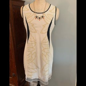 NWoT RYU Dress w/ Leaf Design sz Large